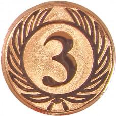 Вкладыш для медали D1-A38/В 3 место (D-25 мм)