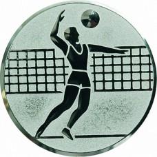 Вкладыш для медали D1-A6/S волейбол (D-25 мм)