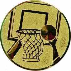 Вкладыш для медали D1-A8/G баскетбол (D-25 мм)
