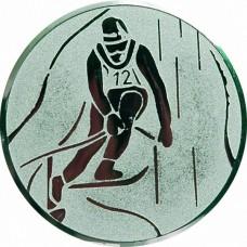 Вкладыш для медали D1-A93/S горные лыжи (D-25 мм)