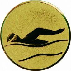 Вкладыш для медали D1-A9/G плавание (D-25 мм)