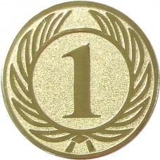 Вкладыш для медали D1-A36/G 1 место (D-25 мм)