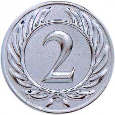 Вкладыш для медали D1-A37/S 2 место (D-25 мм)
