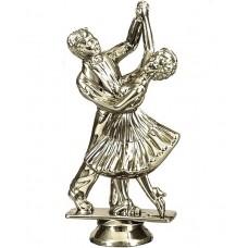 Фигура F06/S спортивно-бальные танцы (H-13см) с цоколем