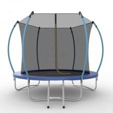 Батут SOULFIT EVO JUMP Internal 10ft (Blue) с внутренней сеткой и лестницей