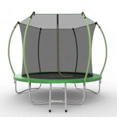 Батут SOULFIT EVO JUMP Internal 10ft (Green) с внутренней сеткой и лестницей