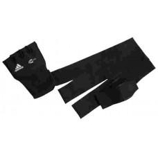 Накладки неопреновые гелиевые с бинтом 2 метра.Quick  wrap glove Mexican