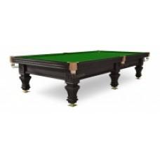 "Бильярдный стол / пирамида ""Hardy"" 9 ф (черный орех, 6 ног, плита 38 мм)"