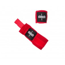 Бинты эластичные CLINCH BOXING CREPE BANDAGE PUNCH 3,5м синие  красные