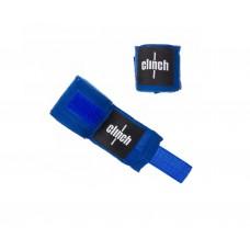 Бинты эластичные CLINCH BOXING CREPE BANDAGE PUNCH 2,55м синиекрасные